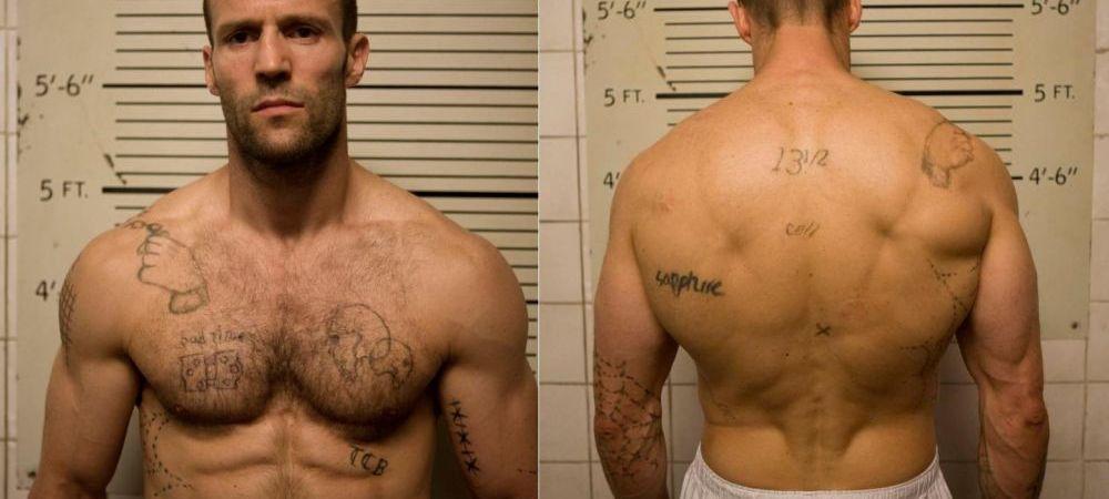 Stiai ca Jason Statham, unul dintre cei mai duri actori de la Hollywood, a facut asta? :) VIDEO UNIC cu starul din Curierul