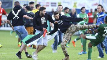 VIDEO SOCANT! Jucatorii au fost macelariti pe teren din cauza RAZBOIULUI din Gaza! Ce s-a intamplat la un meci amical