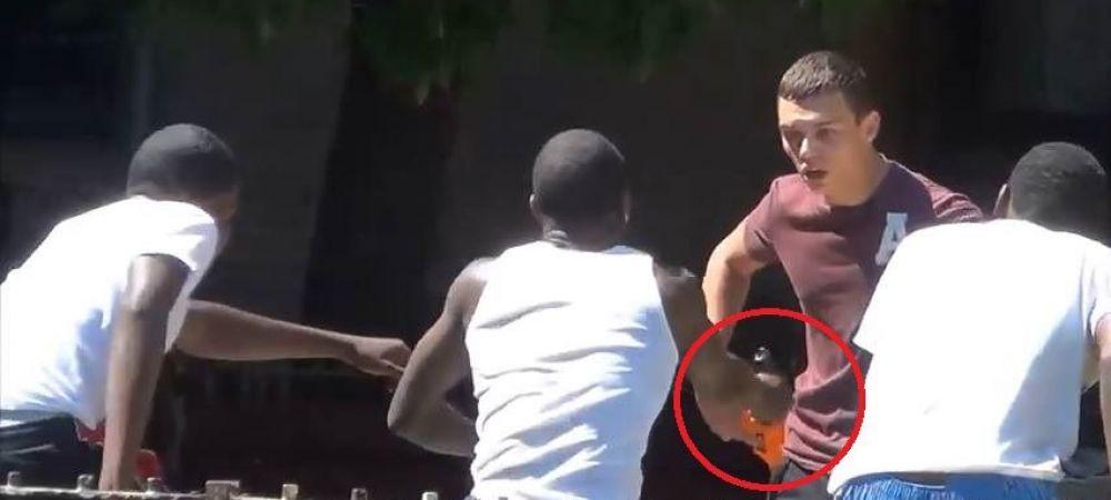 """Auzi, vrei sa cumperi o arma?"" Farsa care care era sa se termine tragic, un gangster a scos pistolul la el! VIDEO"