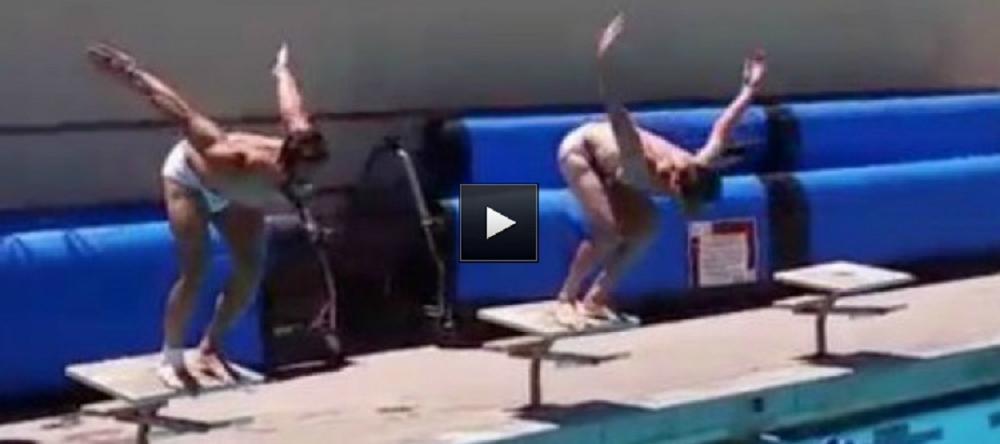 VIDEO: Daniel Carvajal si Xabi Alonso s-au luat la intrecere in bazin! Cine a castigat cursa de 50 m: