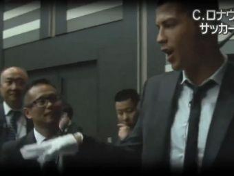 Thriller Cristiano Ronaldo :) Starul Realului a copiat celebrul dans al lui Michael Jackson! Credeti ca se pricepe? VIDEO