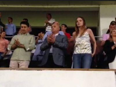 VIDEO: Imagini de senzatie cu noul patron in momentul de NEBUNIE TOTALA din Giulesti! Ce a facut la imn
