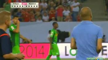 Guardiola s-a bucurat ca Mourinho! Ce a facut dupa meciul castigat cu Monchengladbach