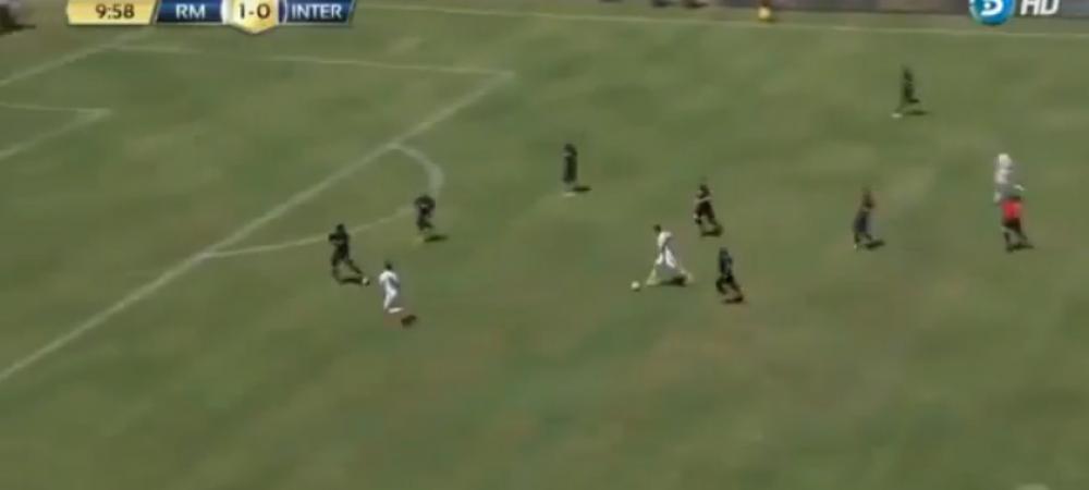 TORPILA BALE! Jucatorul de 100 de milioane a dat un gol TOMAHAWK pentru Real in fata lui Inter! VIDEO