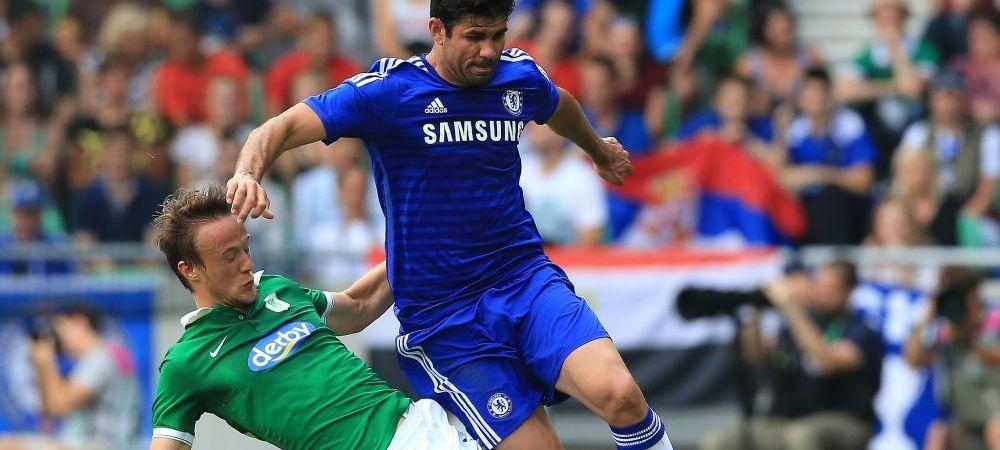 Diego Costa a inscris primul sau gol pentru Chelsea! Fundasii n-au putut sa-l opreasca, cursa atacantului a fost superba VIDEO