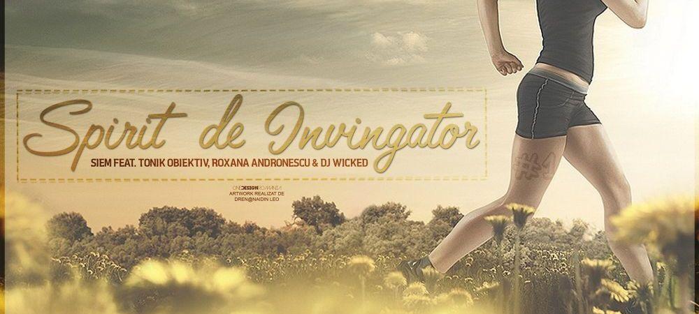 """Doroftei, Hagi, Alina Dumitru si alte simboluri ale sportului romanesc au un nou """"IMN!"""" Asculta in premiera """"Spirit de invingator"""""""