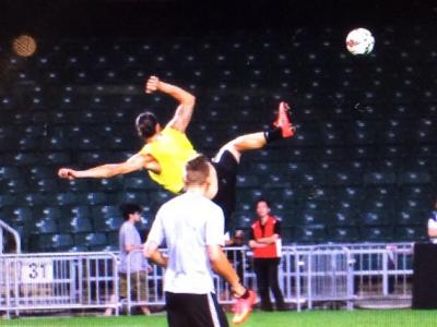VIDEO Kung FU Ibra is back! Ce a ratat Cupa Mondiala! Reusita superba a lui Zlatan la antrenamentul lui PSG