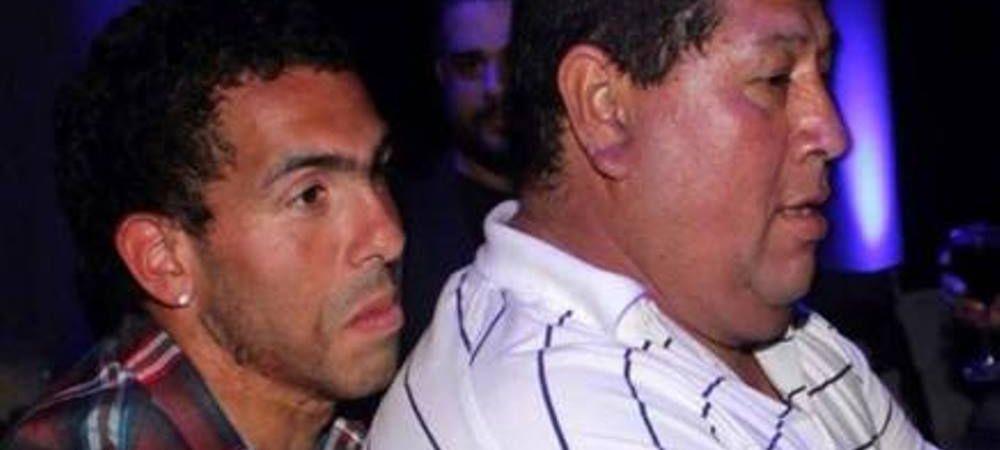 Veste ingrozitoare pentru Tevez: Tatal sau a fost RAPIT 8 ore in Argentina! Jucatorul a platit 400.000 $ pentru eliberare!