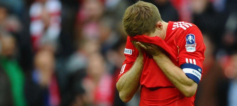 """Dezvaluirile unui munte de fotbalist! Faza care l-a bagat pe Gerrard in depresie: """"Au fost cele mai proaste 3 luni din viata mea!"""""""