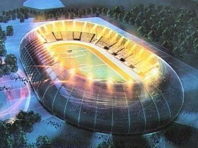 Un nou stadion OZN in Romania! Unde va fi construita aceasta arena BIJUTERIE. Primele imagini