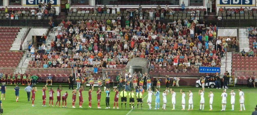 Amenda pentru CFR Cluj! Vestea pe care au primit-o dupa ce au scapat de un jucator: