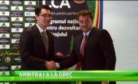 Vacante in Grecia pentru arbitrii din Romania!Vassaras promite revolutie in arbitrajul romanesc! VIDEO