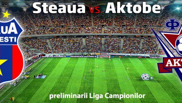 Steaua e in playoff-ul Champions League: 2-1 cu Aktobe! Fantastic: a 11-a calificare consecutiva in grupele europene!