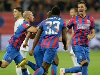 Reusita fenomenala: Galca a adus TIKI TAKA la Steaua! Golul de 2-0 al ros-albastrilor a venit dupa 10 pase consecutive: VIDEO