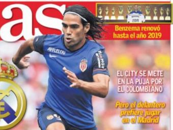 Manchester City a inceput ASALTUL pentru Falcao: Salariul colosal cu care incearca sa i-l fure lui Real Madrid