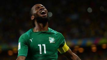 """Didier Drogba si-a anuntat retragerea de la nationala: """"Sunt foarte mandru ca am fost capitanul echipei in ultimii 8 ani!"""""""