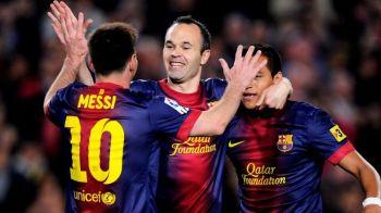 Barcelona a inceput TIKI-TAKA versiunea 2.0! In minutul 5 era 0-0, dar dupa 19 minute toata lumea a ramas uimita de scor: