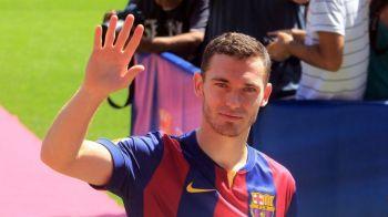 Barcelona a renuntat la inca un jucator in ziua in care l-a prezentat oficial pe Vermaelen. Ce mutare surpriza a anuntat