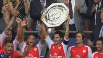 Arsenal e SUPERCAMPIOANA Angliei! Cazorla si Ramsey au ucis-o pe City, Giroud a marcat un GOLAZO! Arsenal 3-0 Manchester City! Vezi toate fazele VIDEO