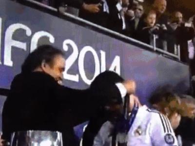 Gest SENZATIONAL al lui Platini in fata lui Cristiano Ronaldo! Ce s-a intamplat la premiere, dupa Supercupa Europei