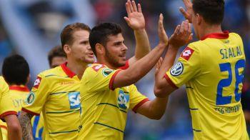 Aproape de Keseru :) Hoffenheim a facut scorul zilei in Cupa Germaniei, un jucator a marcat 5 goluri! Cat s-a terminat meciul