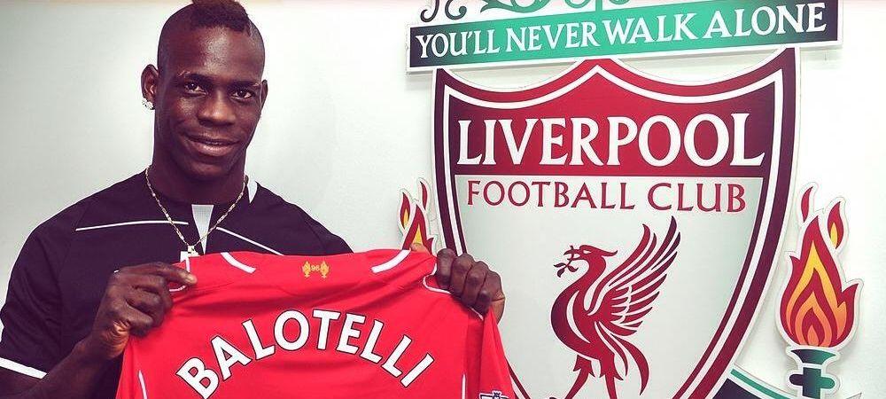 OFICIAL: Liverpool l-a luat pe Balotelli! Prima poza cu Super Mario in noul tricou