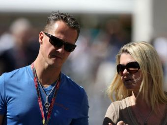 Prima aparitie PUBLICA a sotiei lui Schumacher! Solutie SF pentru revenirea pilotului: un microcip ii poate fi implantat in creier