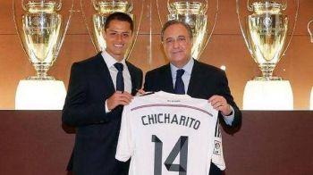 OFICIAL | Chicharito, al patrulea mexican din istoria Realului! Atacantul a fost imprumutat de United pentru un sezon
