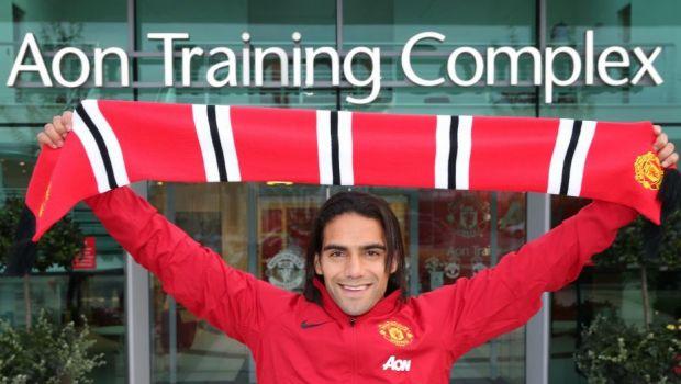Primele imagini cu Falcao la Manchester United, dupa mutarea care sparge RECORDUL de transferuri! Starul care DISPARE din echipa