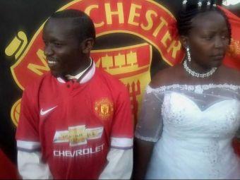 Cel mai nebun dupa fotbal suporter pe care l-ai vazut! Cum a aparut imbracat la propria nunta