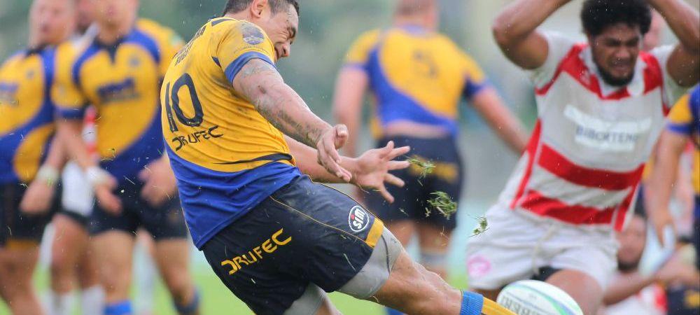 Moment INCREDIBIL la semifinala campionatului de rugby! Au fost chemati jucatori din tribune dupa ce au DISPARUT vizele medicale