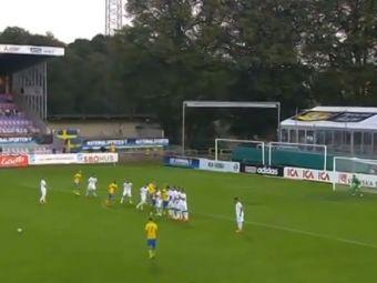 Grecii, distrusi la tineret de un jucator de la Manchester City! FOLHA SECA din lovitura libera direct la vinclu! VIDEO