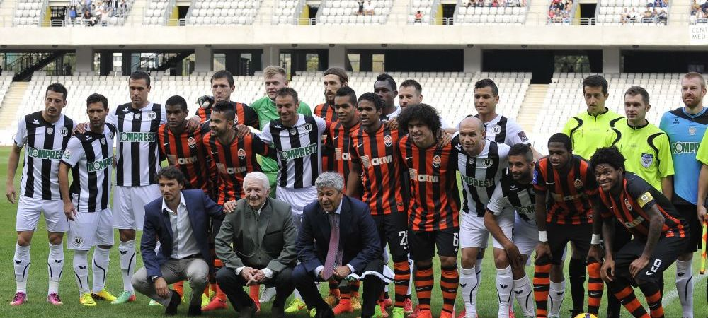 Ogararu a debutat ca antrenor la U. Cluj intr-un amical de Champions League! Imagini superbe de la U. Cluj 0-2 Sahtior