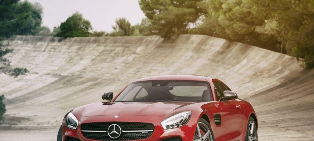 BIJUTERIA lansata de Mercedes: AMG-GT, racheta cu 500 de cai care depaseste 300 km/h! FOTO & VIDEO