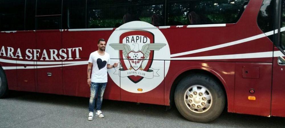 Transferul de Champions League facut astazi de Rapid. Ce mijlocas a fost adus in Giulesti de Moraru. FOTO EXCLUSIV