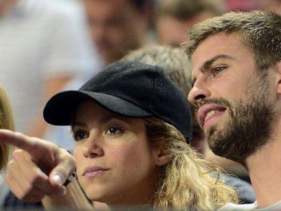 Pique si Shakira, in tribune la meciul Americii de la Mondialul de baschet! Cum au fost surprinsi