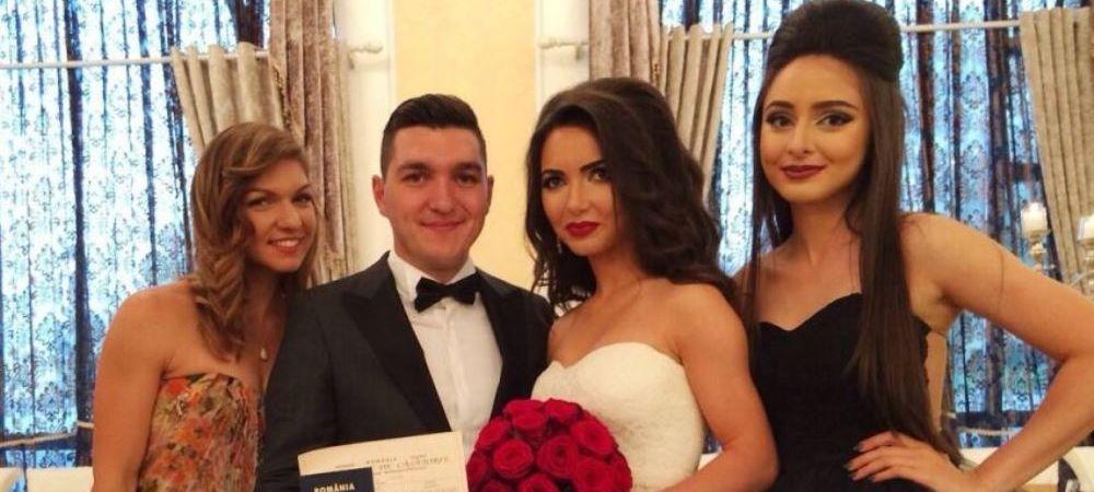 """Zi superba pentru Simona Halep: """"Si au spus.. DA!"""" Primele imagini de la nunta FOTO"""