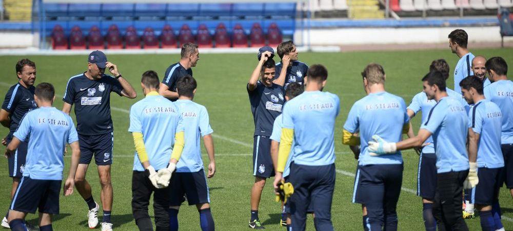 Galca revine la metoda lui Reghe inaintea meciului cu Gaz Metan! Papp si Rusescu pot debuta la Steaua in aceasta seara! Echipele