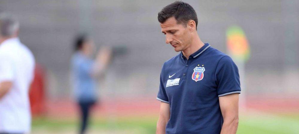Virusul FIFA o loveste din nou pe Steaua! Galca nu poate folosi un jucator si e nevoit sa riste cu Gaz Metan