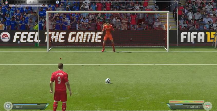 Cel mai tare penalty din ISTORIE la un joc pe calculator! Ce s-a intamplat la faza asta din FIFA 15