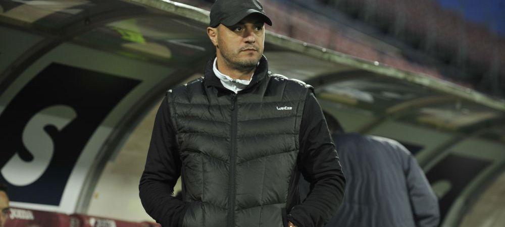 """Dulca, dezamagit de rezultat: """"Ne-a lipsit tupeul"""". Antrenorul Gazului acuza: """"Eu am vazut ofsaid la primul gol"""""""