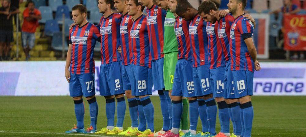 Mesajul transmis de stelisti in timpul meciului cu Gaz Metan! Ce au facut dupa golul marcat de Keseru. FOTO