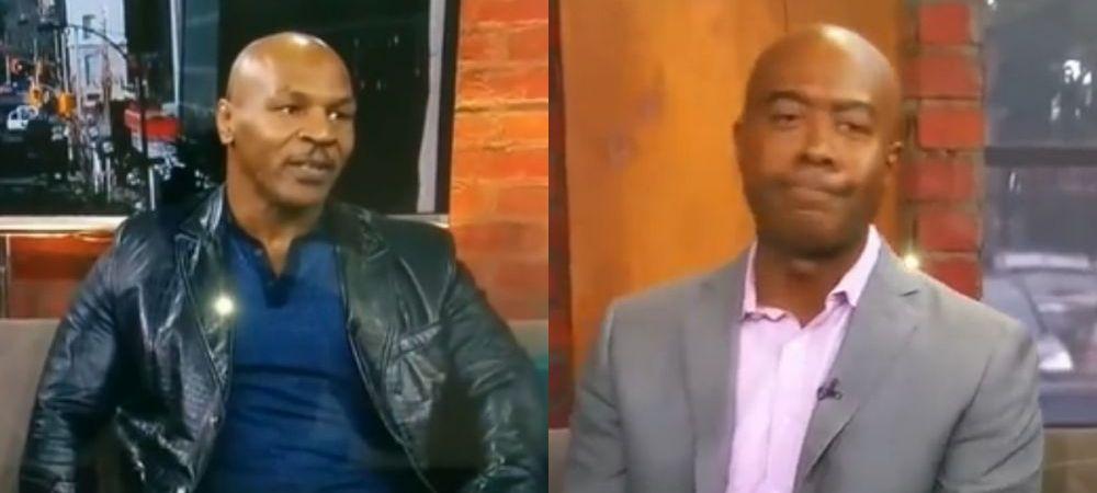 "CRIMINAL! Mike Tyson, aproape sa o ia razna in platou: ""Esti un r*hat! F8ck YOU!"" Vezi ce intrebare i-a declansat furia"