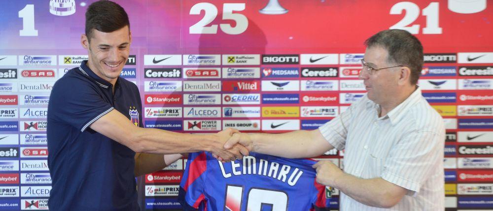 Anuntul surprinzator facut astazi despre Lemnaru! Asta e motivul real pentru care Steaua l-a trimis inapoi la U Cluj: