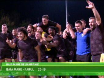 Baia MARE de sampanie!Baia Mare e din nou campioana Romaniei la rugby. VIDEO