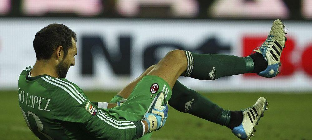 Fanii Milanului l-au cunoscut pe 'BANEL'! Diego Lopez a COMIS-O si s-a accidentat! THRILLER cu 9 goluri si un calcai GENIAL VIDEO