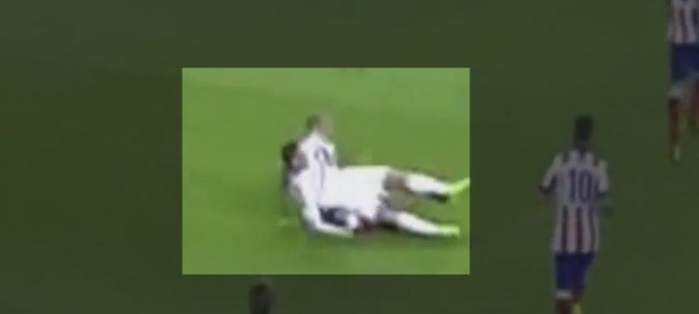Gestul scandalos al lui Cristiano Ronaldo cu Atletico Madrid! Arbitrul l-a vazut si nu i-a facut nimic! VIDEO
