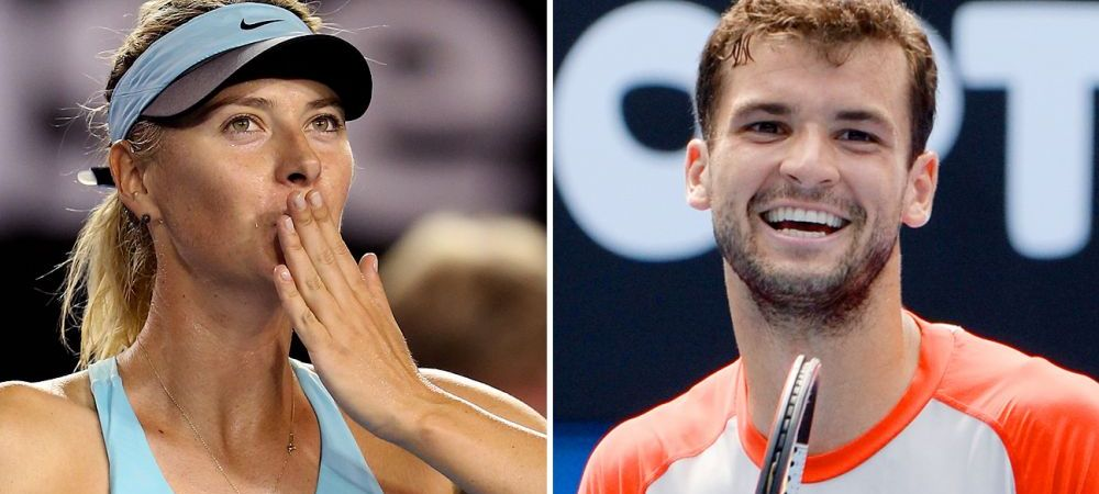 Relationship status: SINGLE! Sharapova si Dimitrov s-au despartit dupa US Open. Care e motivul