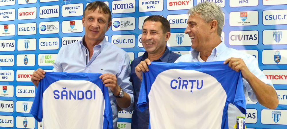 """Sandoi si Cartu, primul meci oficial, prima victorie: """"Sunt suparat pe Kay, e lipsa de responsabilitate la faza cartonasului rosu"""""""