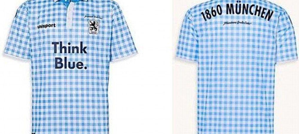 Asta e primul echipament de fotbal pentru BERE si CARNATI. Clubul din Germania care a venit cu cea mai nebuna idee